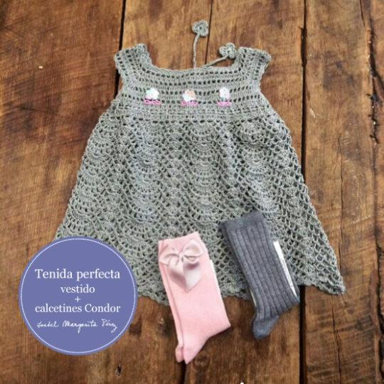 La tenida perfecta: vestido+calcetines Condor