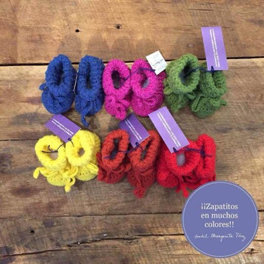 Zapatitos en muchos colores