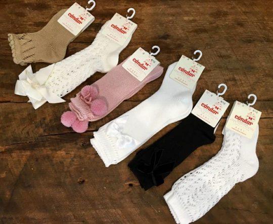 Modelos de calcetines condor en talla 0.